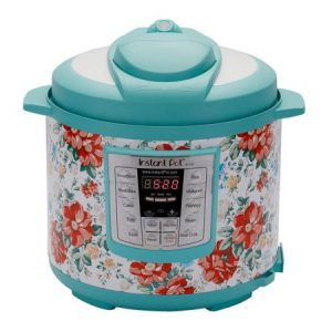 Instant Pot Pioneer Woman LUX60 Vintage Floral 6 Qt 6-in-1 Multi-Use Programmable Pressure Cooker