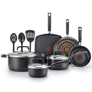 T-fal Cookware Set, Nonstick Pots and Pans Set