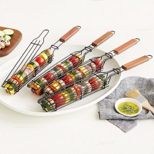 Kabob Grilling Baskets – Set of 4